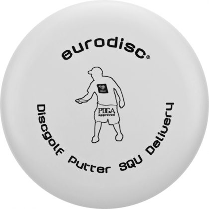 Eurodisc Discgolf Putter Delivery SQU weiss